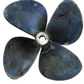 Repaired propeller: