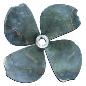 Damaged propeller