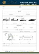 FIX PITCH PROPELLER SELECTION SHEET