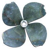 Damaged propeller