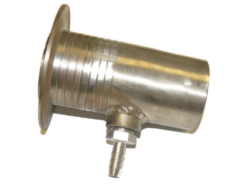 TUBE PASSE COQUE INOX A STRATIFIER